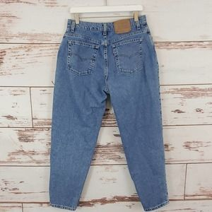Vintage Levi's 551 Jean Relaxed Tapered Mom 14S
